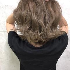 外国人風カラー ヘアアレンジ ボブ エレガント ヘアスタイルや髪型の写真・画像