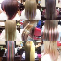 ガーリー ヘアアレンジ エクステ ロング ヘアスタイルや髪型の写真・画像