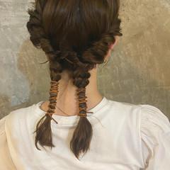アンニュイ ヘアアレンジ 愛され ガーリー ヘアスタイルや髪型の写真・画像