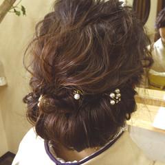 アップスタイル 大人かわいい ロング ゆるふわ ヘアスタイルや髪型の写真・画像