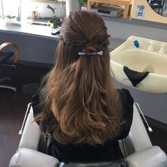 ウェーブ ゆるふわ ロング 結婚式 ヘアスタイルや髪型の写真・画像