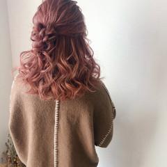 ヘアセット お団子アレンジ ミディアム 結婚式 ヘアスタイルや髪型の写真・画像