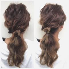 ゆるふわ 外国人風 フェミニン 大人かわいい ヘアスタイルや髪型の写真・画像