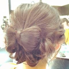 ショート コンサバ ヘアアレンジ パーティ ヘアスタイルや髪型の写真・画像