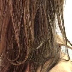 ロング 大人可愛い 大人かわいい 毛先パーマ ヘアスタイルや髪型の写真・画像