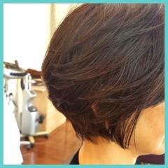 ショート エレガント 上品 ヘアスタイルや髪型の写真・画像