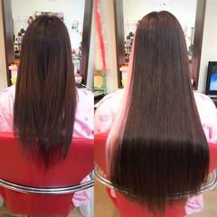 カラーバター ロング ピンク パステルカラー ヘアスタイルや髪型の写真・画像