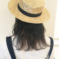 涼しげ アウトドア ヘアアレンジ ガーリー ヘアスタイルや髪型の写真・画像