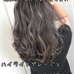3Dハイライト ハイライト ストリート 地毛ハイライト ヘアスタイルや髪型の写真・画像