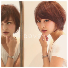 抜け感 ショート 似合わせ 大人かわいい ヘアスタイルや髪型の写真・画像