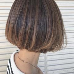 ボブ ショート 上品 エレガント ヘアスタイルや髪型の写真・画像