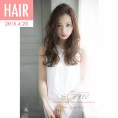 春 ストリート セミロング パンク ヘアスタイルや髪型の写真・画像