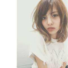グラデーションカラー 外国人風 フェミニン ナチュラル ヘアスタイルや髪型の写真・画像