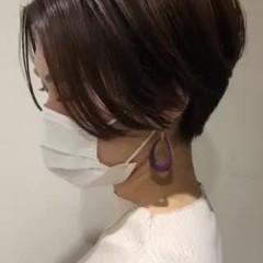 ナチュラル ショート ショートヘア ヘアスタイルや髪型の写真・画像