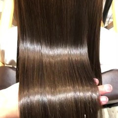 トリートメント ナチュラル 髪質改善トリートメント オフィス ヘアスタイルや髪型の写真・画像