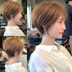 吉瀬美智子 ハンサムショート ショートヘア 40代 ヘアスタイルや髪型の写真・画像
