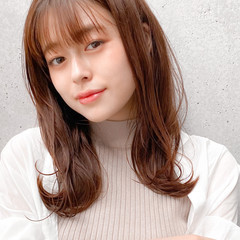 レイヤースタイル レイヤーカット ナチュラル 愛され ヘアスタイルや髪型の写真・画像