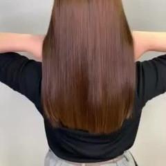 ダウンスタイル TOKIOトリートメント 美髪矯正 サラサラ ヘアスタイルや髪型の写真・画像
