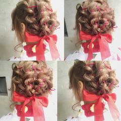 簡単ヘアアレンジ ヘアアレンジ 外国人風 ハーフアップ ヘアスタイルや髪型の写真・画像
