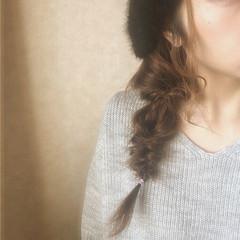 フィッシュボーン ヘアアレンジ 大人女子 くるりんぱ ヘアスタイルや髪型の写真・画像