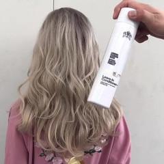 モード セミロング アンニュイ ヘアアレンジ ヘアスタイルや髪型の写真・画像