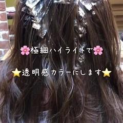 結婚式 オフィス ロング アンニュイほつれヘア ヘアスタイルや髪型の写真・画像