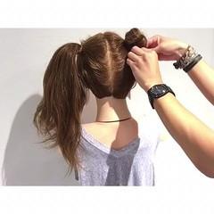 夏 ロング 涼しげ デート ヘアスタイルや髪型の写真・画像