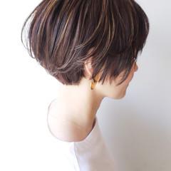 ゆるふわ ショート ショートボブ コンサバ ヘアスタイルや髪型の写真・画像