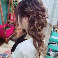 成人式 ヘアアレンジ 結婚式 ロング ヘアスタイルや髪型の写真・画像
