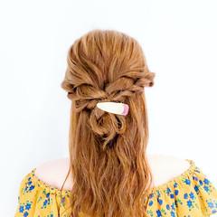 フェミニン ロング ヘアアレンジ ショート ヘアスタイルや髪型の写真・画像