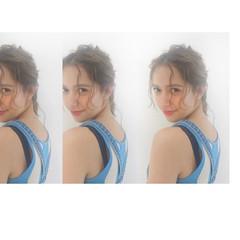 ヘアアレンジ 涼しげ 色気 ナチュラル ヘアスタイルや髪型の写真・画像