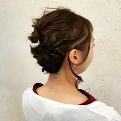 フェミニン ヘアアレンジ 二次会 アップスタイル ヘアスタイルや髪型の写真・画像