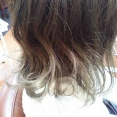 ロング グラデーションカラー 春 ストリート ヘアスタイルや髪型の写真・画像