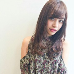 女子会 ロング ナチュラル 外国人風 ヘアスタイルや髪型の写真・画像