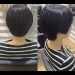 ヘアケア ベリーショート ショートボブ ショートヘア ヘアスタイルや髪型の写真・画像