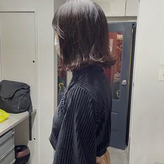 ボブ 切りっぱなしボブ ボブヘアー くせ毛 ヘアスタイルや髪型の写真・画像