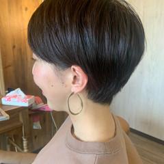 ショート ベリーショート 白髪染め 髪質改善カラー ヘアスタイルや髪型の写真・画像
