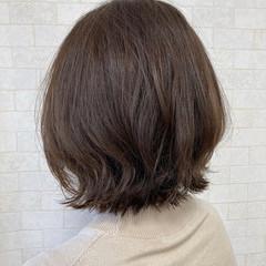 ショートヘア 切りっぱなしボブ ボブ ミニボブ ヘアスタイルや髪型の写真・画像