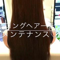 ナチュラル トリートメント 艶髪 巻き髪 ヘアスタイルや髪型の写真・画像