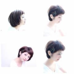 ショート コンサバ モテ髪 愛され ヘアスタイルや髪型の写真・画像