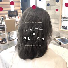 縮毛矯正 髪質改善 ストレート 前髪 ヘアスタイルや髪型の写真・画像