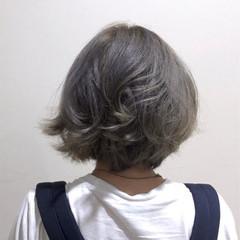 外国人風 ストリート アッシュ くせ毛風 ヘアスタイルや髪型の写真・画像