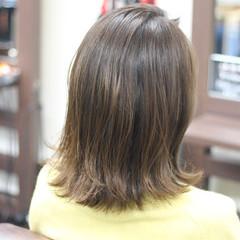 お手入れ簡単!! 圧倒的透明感 ナチュラル 外ハネ ヘアスタイルや髪型の写真・画像