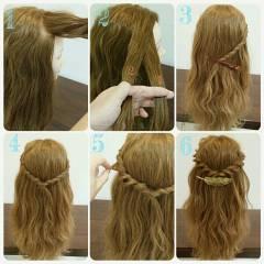ゆるふわ 愛され ヘアアレンジ モテ髪 ヘアスタイルや髪型の写真・画像