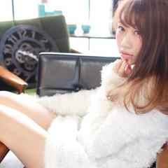 ミディアム 大人かわいい リラックス かわいい ヘアスタイルや髪型の写真・画像