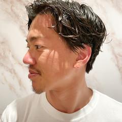 メンズヘア 黒髪 ショートヘア ナチュラル ヘアスタイルや髪型の写真・画像