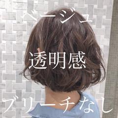 ボブ ガーリー 大人可愛い ミニボブ ヘアスタイルや髪型の写真・画像