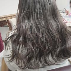 グラデーションカラー ストリート アッシュ 大人かわいい ヘアスタイルや髪型の写真・画像