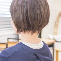 ショートヘア ショートボブ ショートカット フェミニン ヘアスタイルや髪型の写真・画像