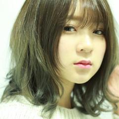 ガーリー グラデーションカラー 外国人風 フェミニン ヘアスタイルや髪型の写真・画像